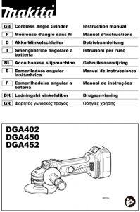 AMOLADORA-MAKITA-DGA452RME-manual