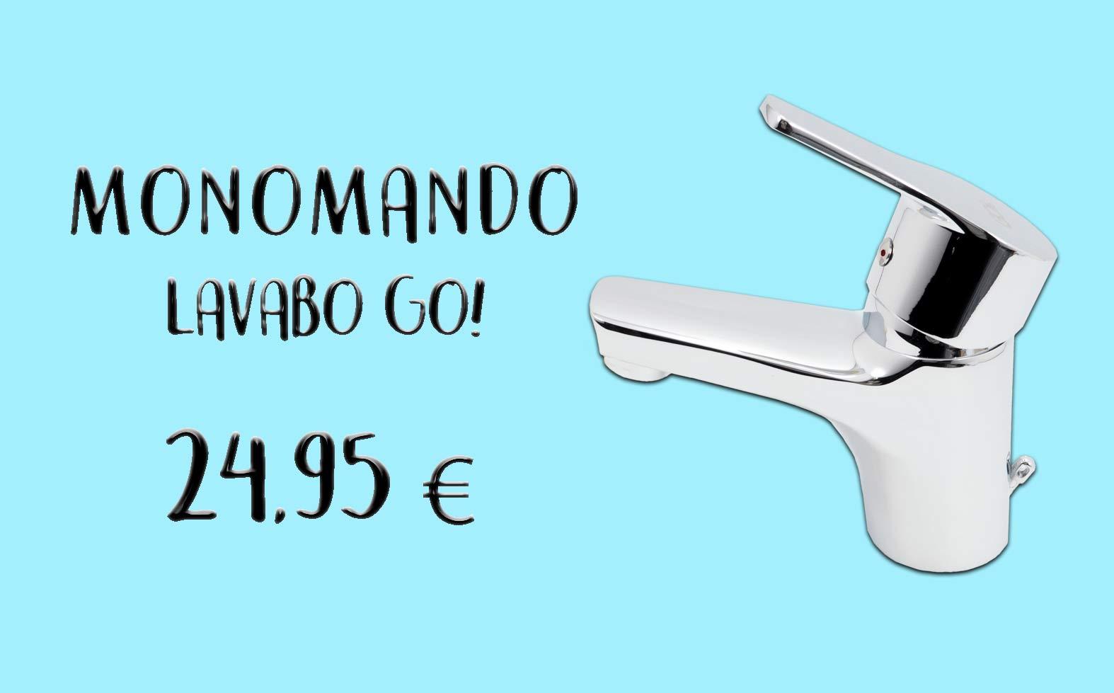 MONOMANDO LAVABO CLEVER GO!