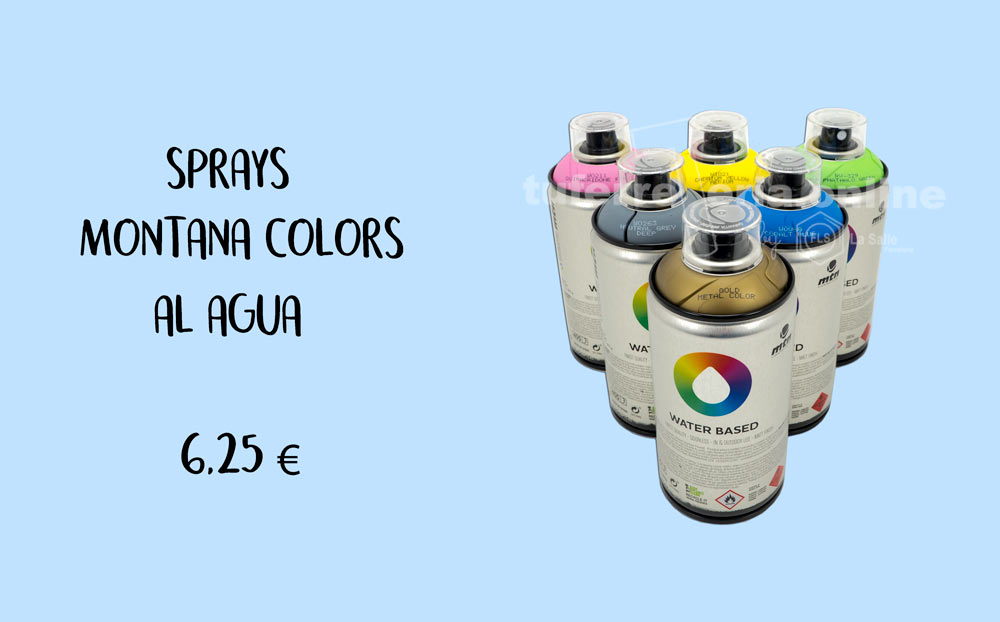 SPRAYS MONTANA COLORS AL AGUA