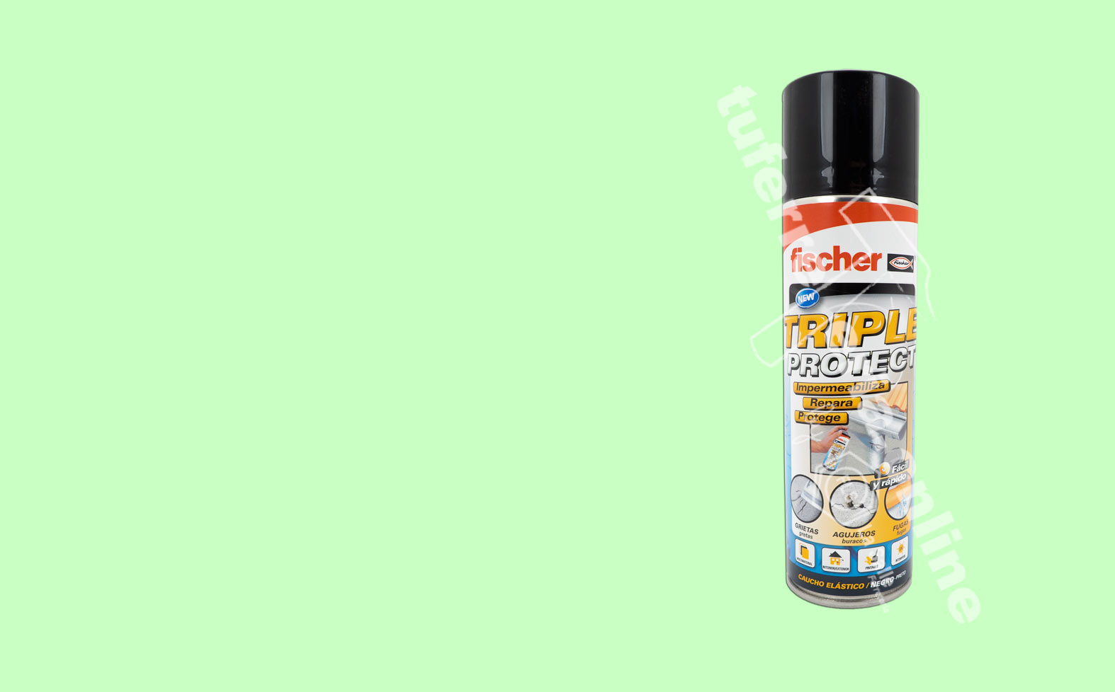 SPRAY-IMPERMEABILIZANTE TRIPLE PROTECT FISCHER